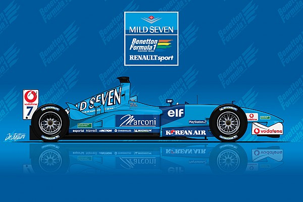 La B201, ultime Benetton de l'Histoire de la F1