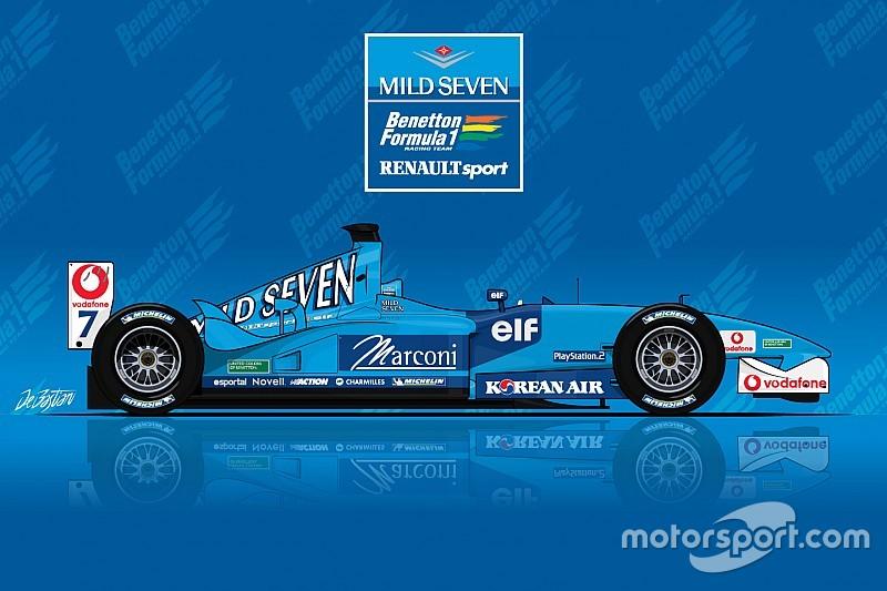 День в історії: дивовижна презентація останнього боліда Benetton