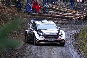 WRC Prova speciale Gran Bretagna, PS2: Evans vola. Subito guai per Neuville