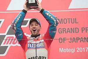 MotoGP Réactions Dovizioso frappe fort en gagnant un duel