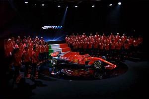 Ferrari SF71-H show: passo più lungo inclinando le sospensioni