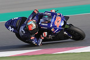 MotoGP Testing report Vinales tops first day of Qatar pre-season test