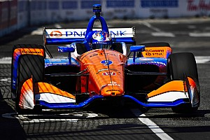 IndyCar Practice report Toronto IndyCar: Dixon top again as teams try soft-compound tires