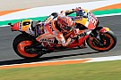 Valencia MotoGP: Marquez tops warm-up for title decider