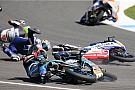 Жуть в Moto3 и горящий байк Рабата: лучшее гоночное видео уик-энда