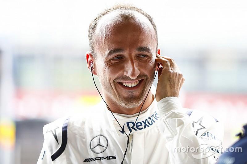 Kubica: Williams'ın en iyi yanı aracın renkleri
