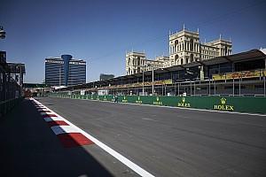 Azerbaijan GP: Follow Friday practice as it happens