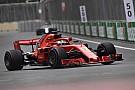 Azerbaycan GP 3. antrenman: Vettel ve Ferrari lider!