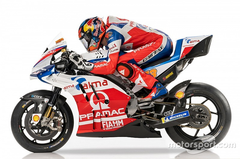 Pramac Unveils Livery For 2018 Motogp Season