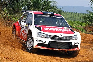 Other rally Leg report Malaysia APRC: Gill closer to title as Kreim retires in Leg 1