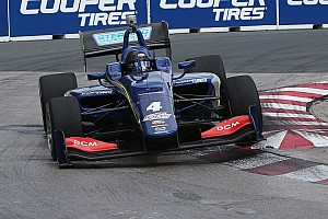 Indy Lights Practice report Serralles tops Indy Lights practice at Toronto