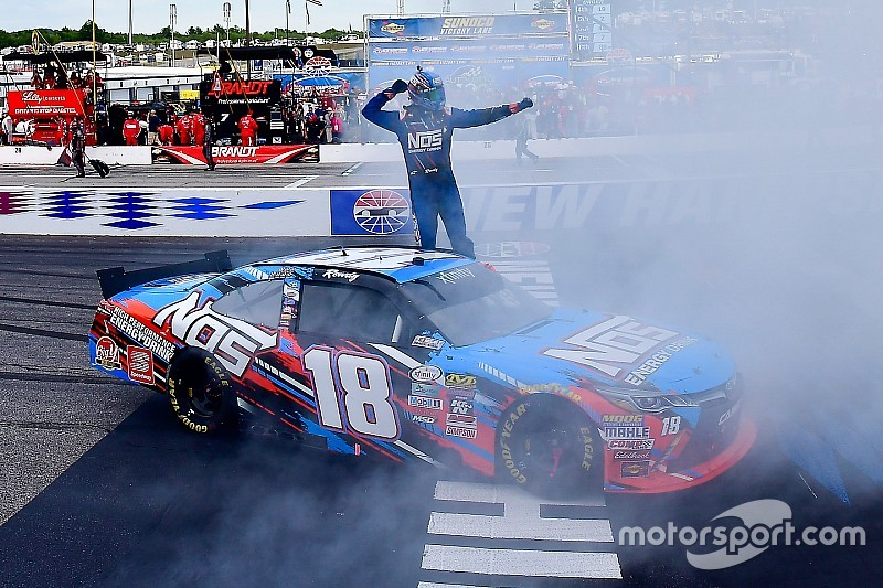 """Kyle Busch: """"People want to kick you out because you're too good"""""""