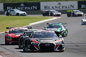 Blancpain Sprint Race report Four podium finishes for the Team WRT at Budapest
