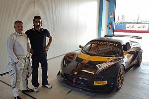 GT Ultime notizie Nicola Larini nella Lotus Cup Italia ad Imola con LG Motorsport