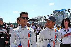 Formula 1 Special feature Galeri: Para pembalap rookie Manor Racing