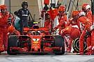 Ferrari, pit stop hatası nedeniyle ceza aldı