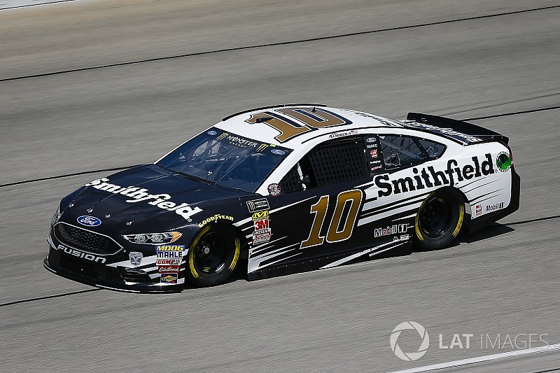 Aric Almirola earns first ever stage win at Chicagoland