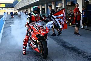 Juara Superstock, Rinaldi debut World Superbike