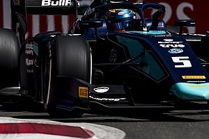 FIA F2 Отчет о квалификации Элбон завоевал поул на этапе Формулы 2 в Баку