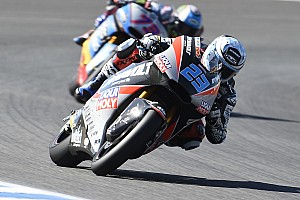 Moto2 Prove libere Le Mans, Libere 3: Schrotter cade ma guida la doppietta Dynavolt