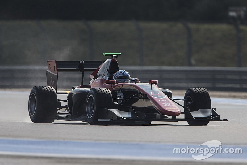 Hughes leads ART 1-2 as GP3 testing kicks off