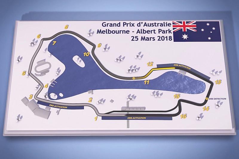 Vidéo - Le guide du circuit de l'Albert Park à Melbourne