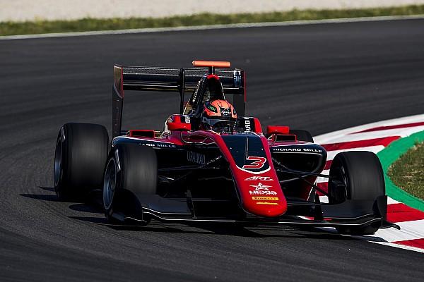 GP3 Raceverslag GP3 Barcelona: debutant Mazepin bovenaan op ART-podium