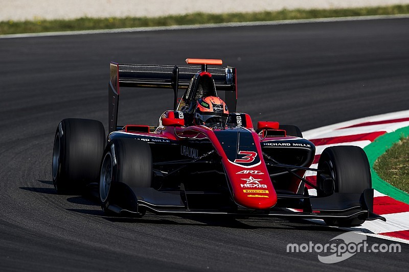 Barcelona GP3: Mazepin scores maiden win on debut