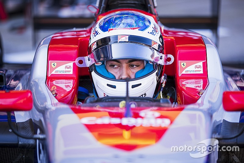 Barcelona GP3: Alesi wins crash-filled wet sprint race