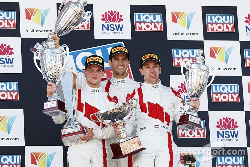 Bathurst 12 Saat: Büyük kaza nedeniyle erken biten yarışı WRT Audi kazandı