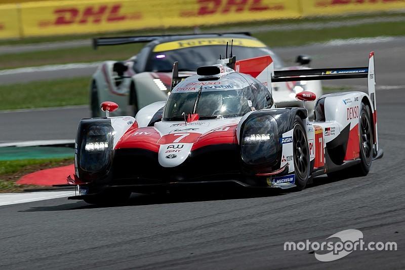 El Toyota de López lidera la primera práctica en Silverstone