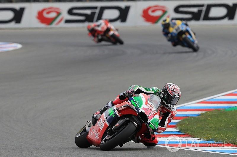 Espargaro criticises Aprilia for conservative Brno strategy
