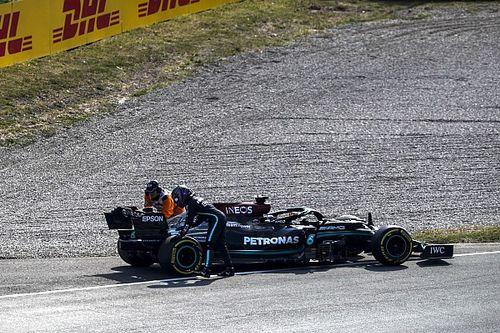 İkinci antrenmana erken veda etmesinin ardından Hamilton: ''Bu bizi biraz zora soktu''