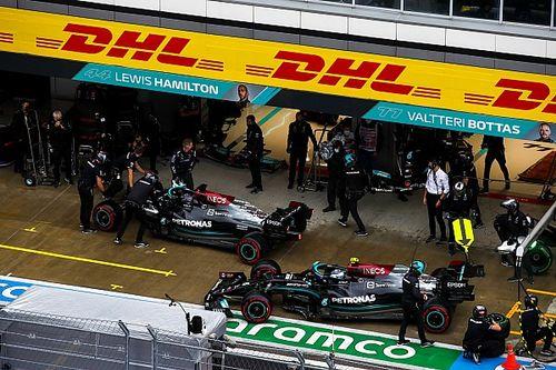 """F1: Mercedes e Hamilton """"preservam"""" motor por incertezas com confiabilidade"""