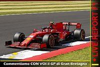 Report LIVE F1: commentiamo CON VOI il GP di Gran Bretagna