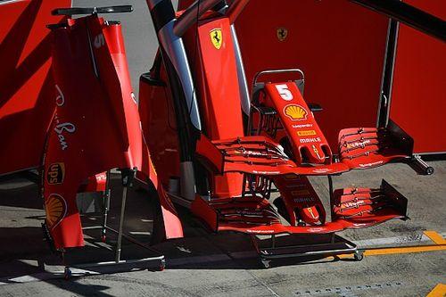 Nem viccelt a Ferrari, már meg is jöttek az új első szárnyak
