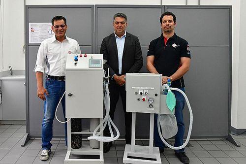 تصميم أول جهاز تنفس صناعي محلي الصنع بخبرات مهندسي حلبة البحرين الدولية