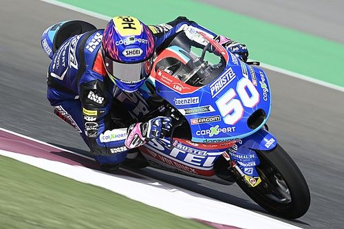 Moto3, Doha, Libere 3: il vento non ferma Dupasquier, Foggia 2°