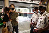 Grosjean a fait son retour dans le paddock F1 après son terrible crash