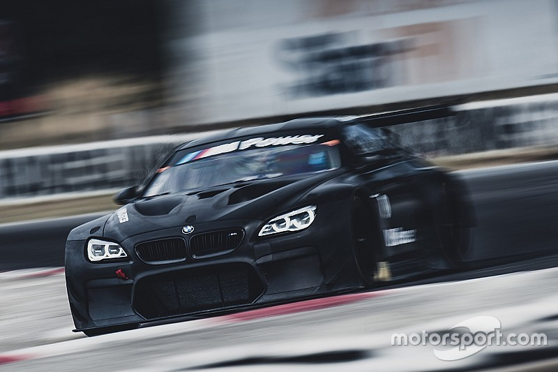 BMW GT3 car turns first laps in Australia