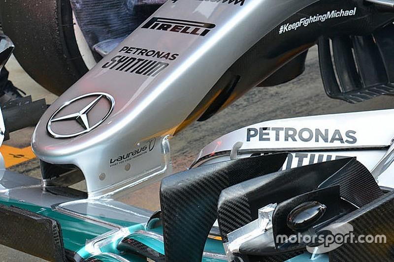 Mercedes: ecco perché fa discutere l'S-duct della W07 Hybrid