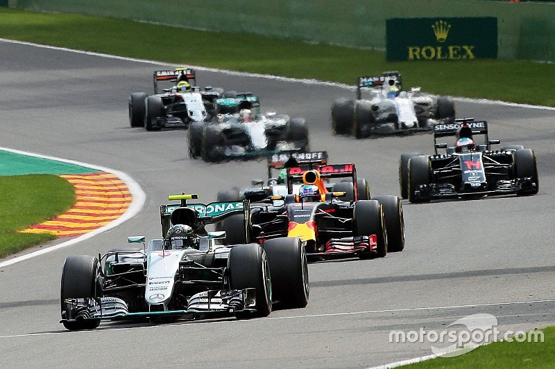 Minimum car weight increased for 2017 F1 season