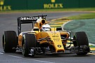 Magnussen: Driving a yellow Renault