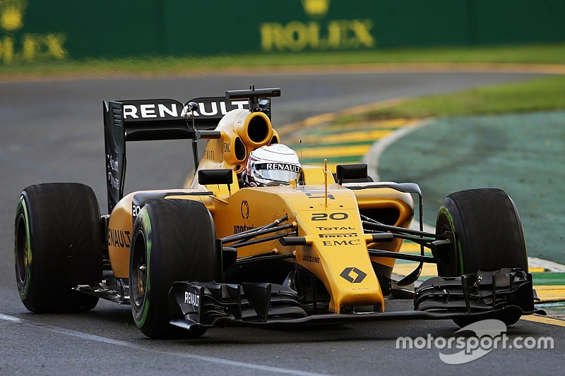 A wet start to Renault Sport Formula One Team in Australia
