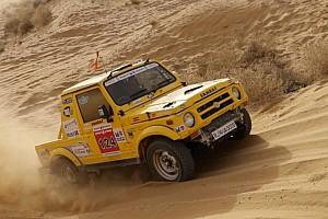 Indian Rally Leg report Desert Storm, Leg 3: Mishra, Santosh stay on top