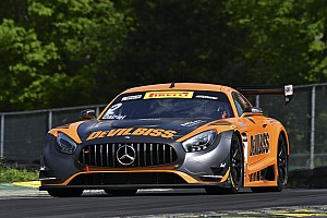Virginia PWC: Ex-F1 ace Johansson's crash ends SprintX race two early