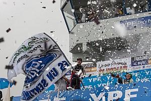 TURISMO CARRETERA Reporte de la carrera En su cumpleaños, Rossi ganó por primera vez con un Ford