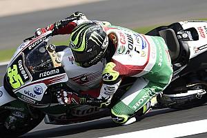 MotoGP Antrenman raporu MotoGP Britanya 2. antrenman: Crutchlow lider, Marquez düştü