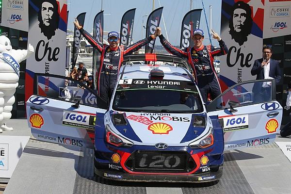Neuville al top in Corsica: Hyundai ha trovato il modo di gestirlo?