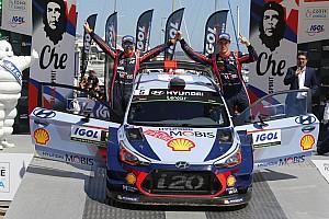 WRC Noticias de última hora En Hyundai se sienten